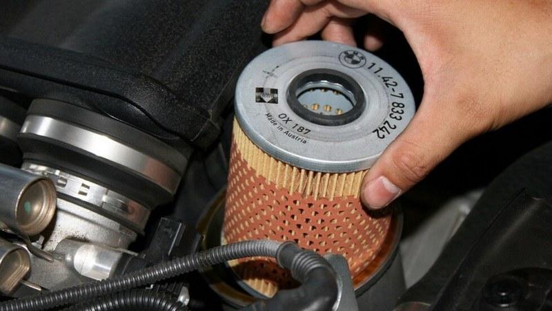 Заміна масляного фільтра
